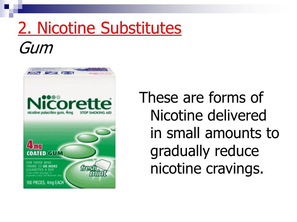2. Nicotine Substitutes Gum