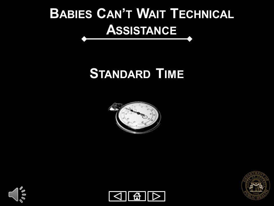 Babies Can't Wait Technical Assistance