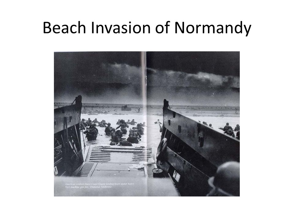 Beach Invasion of Normandy
