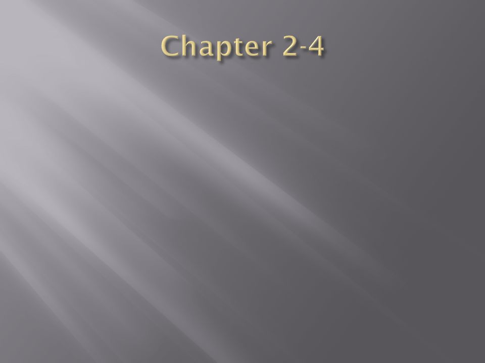 Chapter 2-4