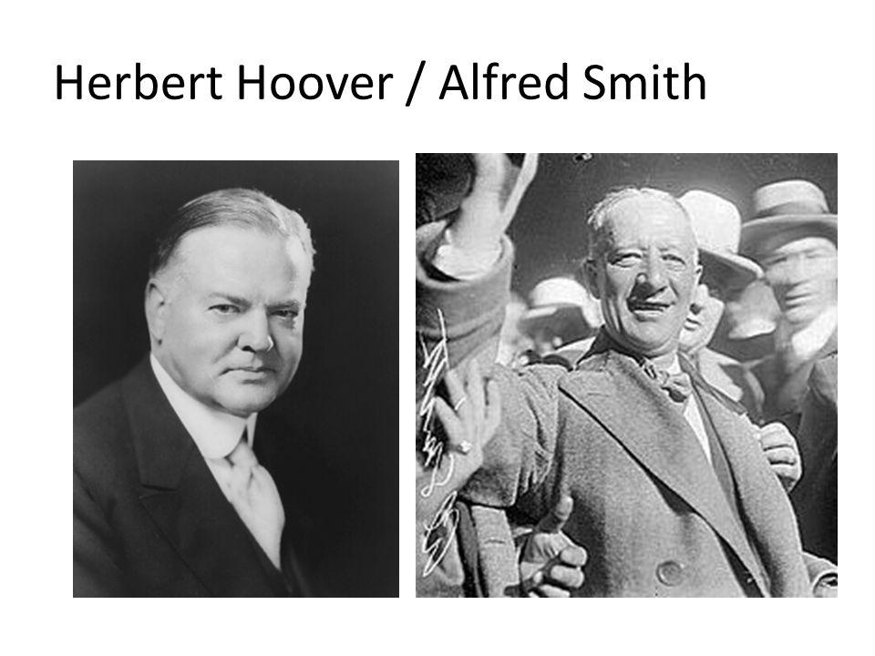 Herbert Hoover / Alfred Smith