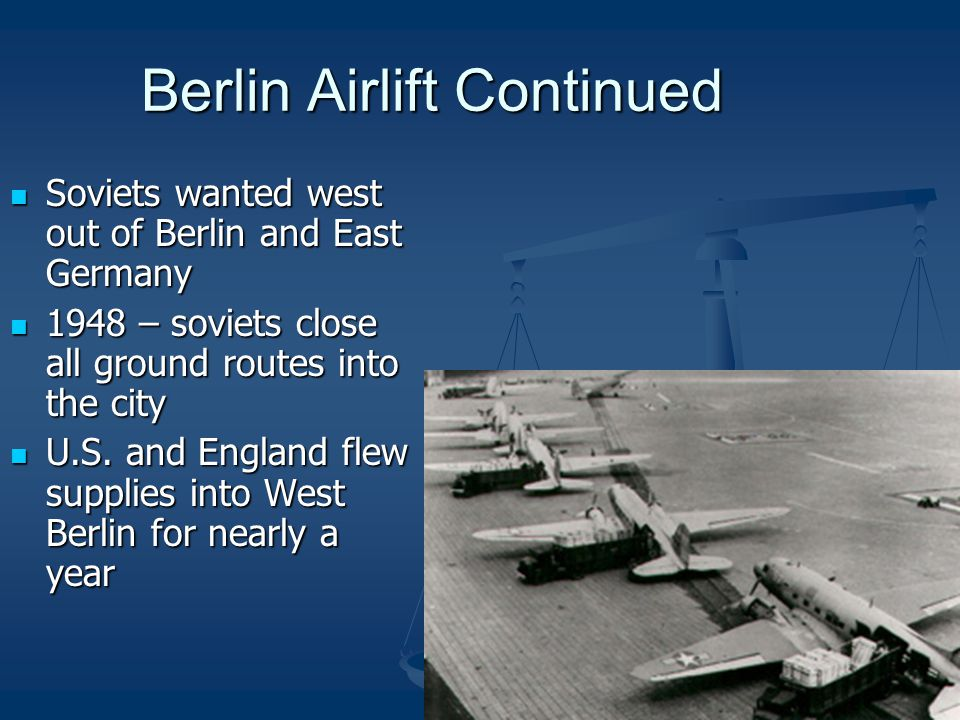 Berlin Airlift Continued