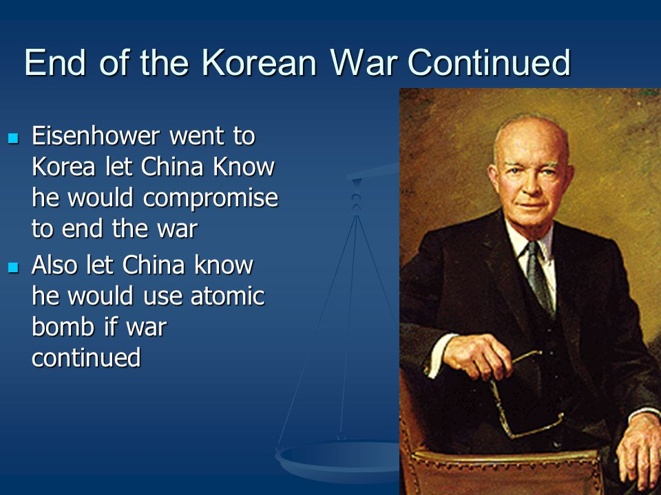 End of the Korean War Continued