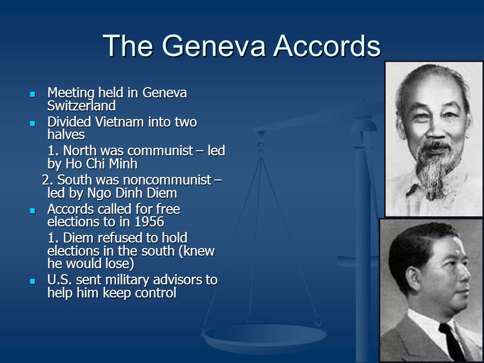 The Geneva Accords Meeting held in Geneva Switzerland