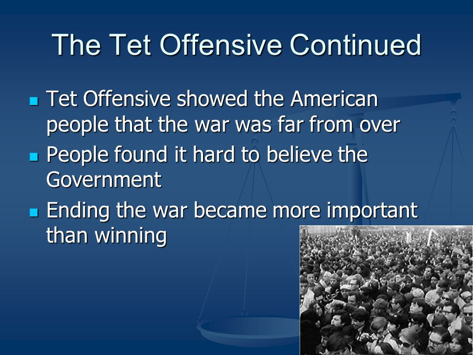 The Tet Offensive Continued