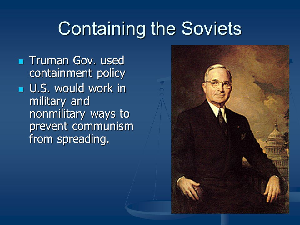 Containing the Soviets