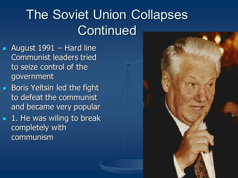 The Soviet Union Collapses Continued
