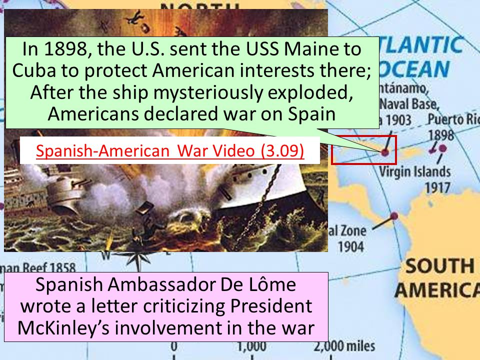 Spanish-American War Video (3.09)