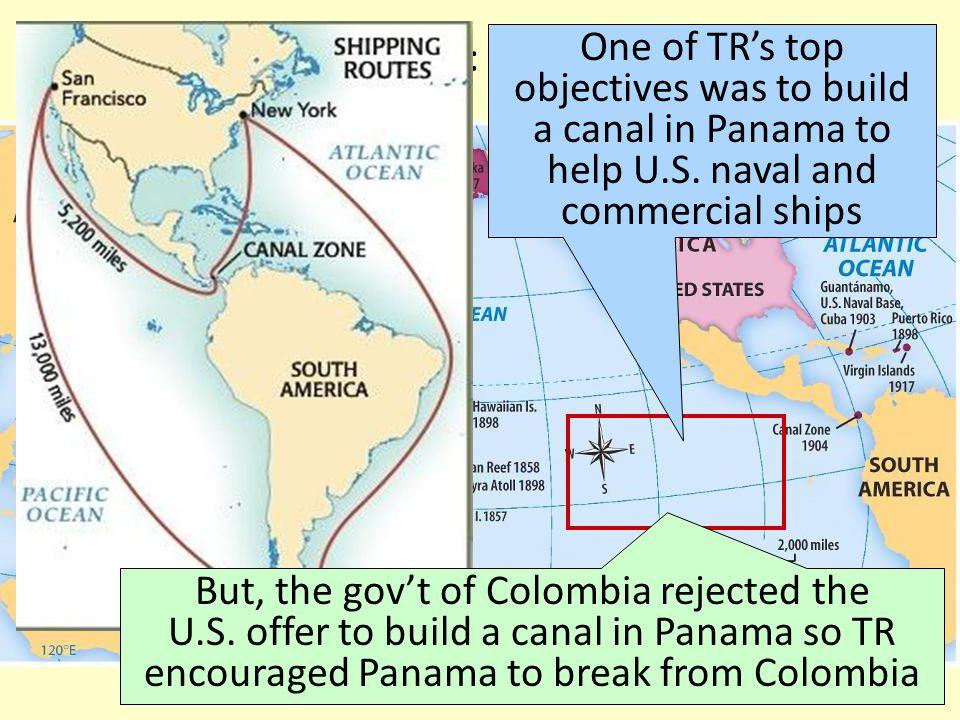 U.S. Imperialism: PANAMA CANAL