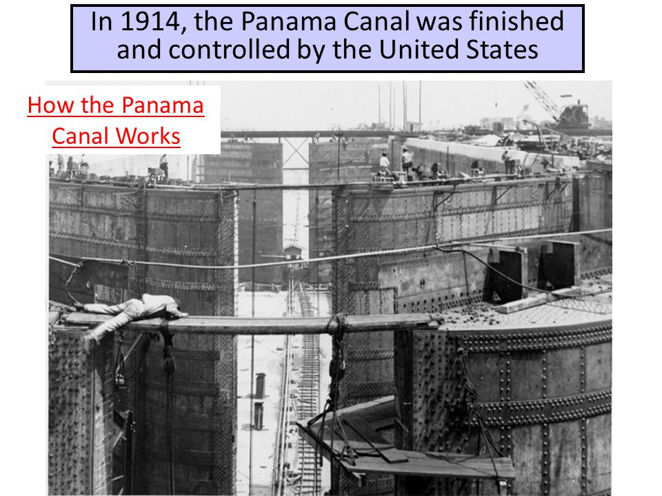 How the Panama Canal Works