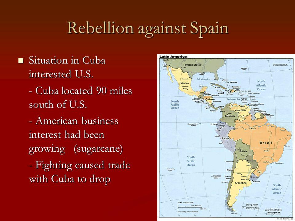 Rebellion against Spain