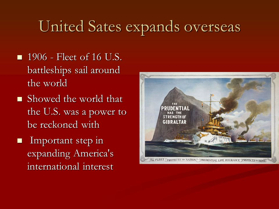 United Sates expands overseas