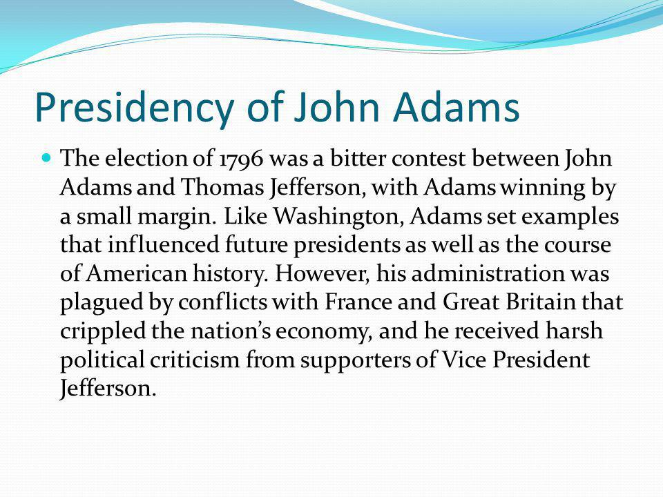Presidency of John Adams