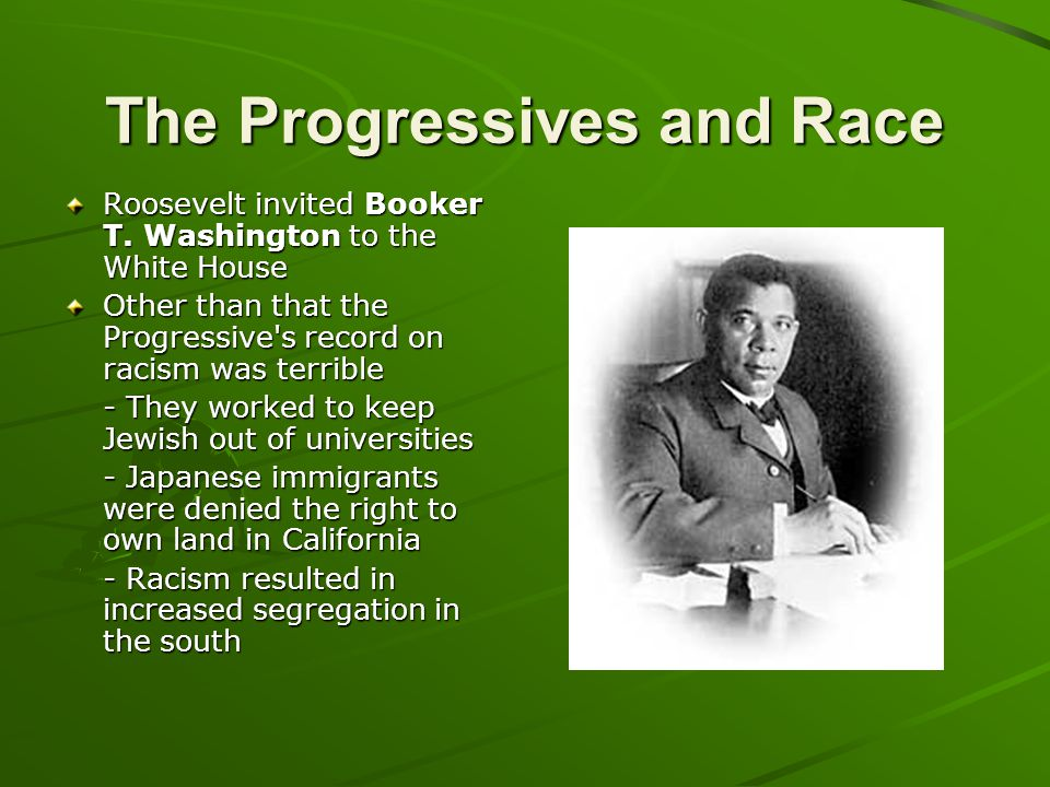 The Progressives and Race