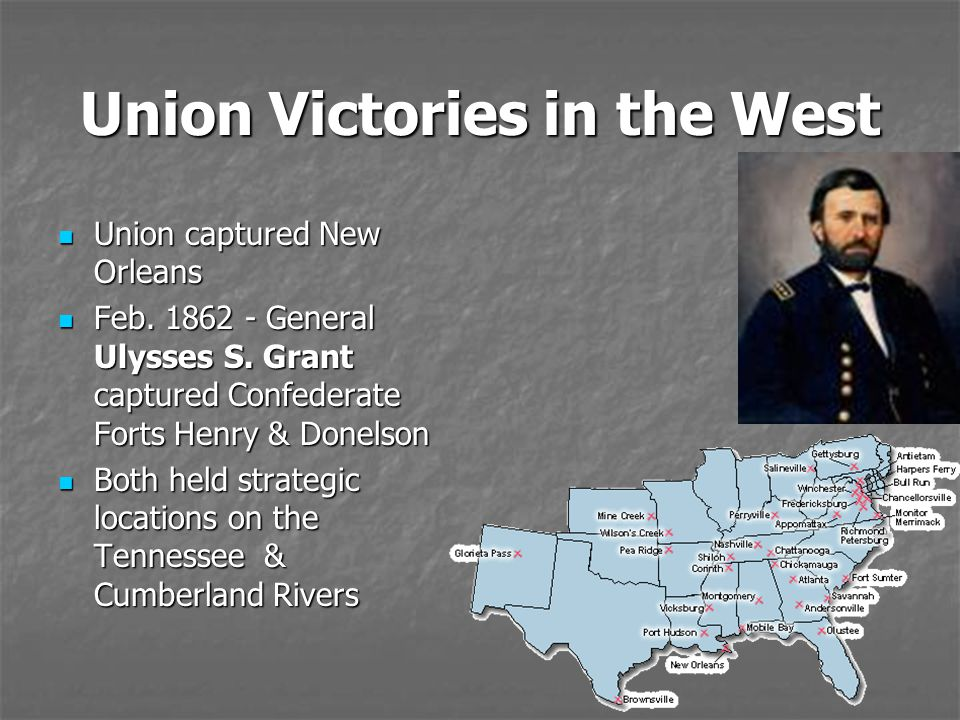 Union Victories in the West
