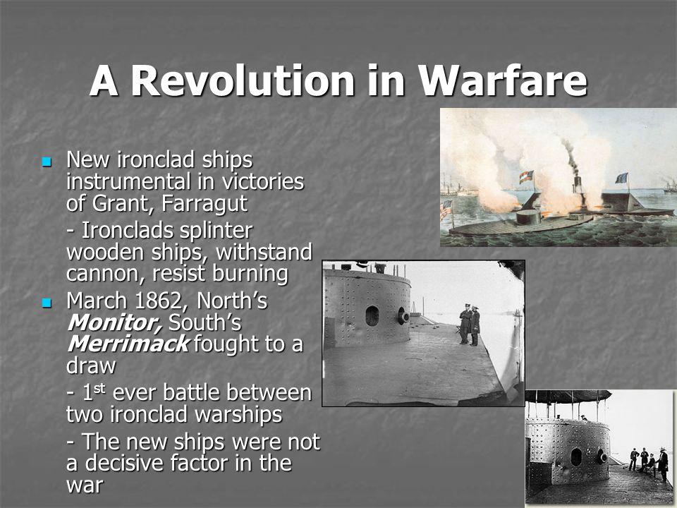 A Revolution in Warfare