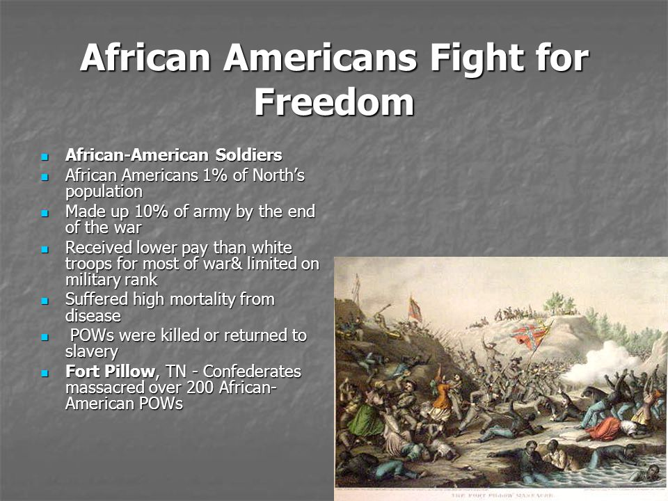 African Americans Fight for Freedom