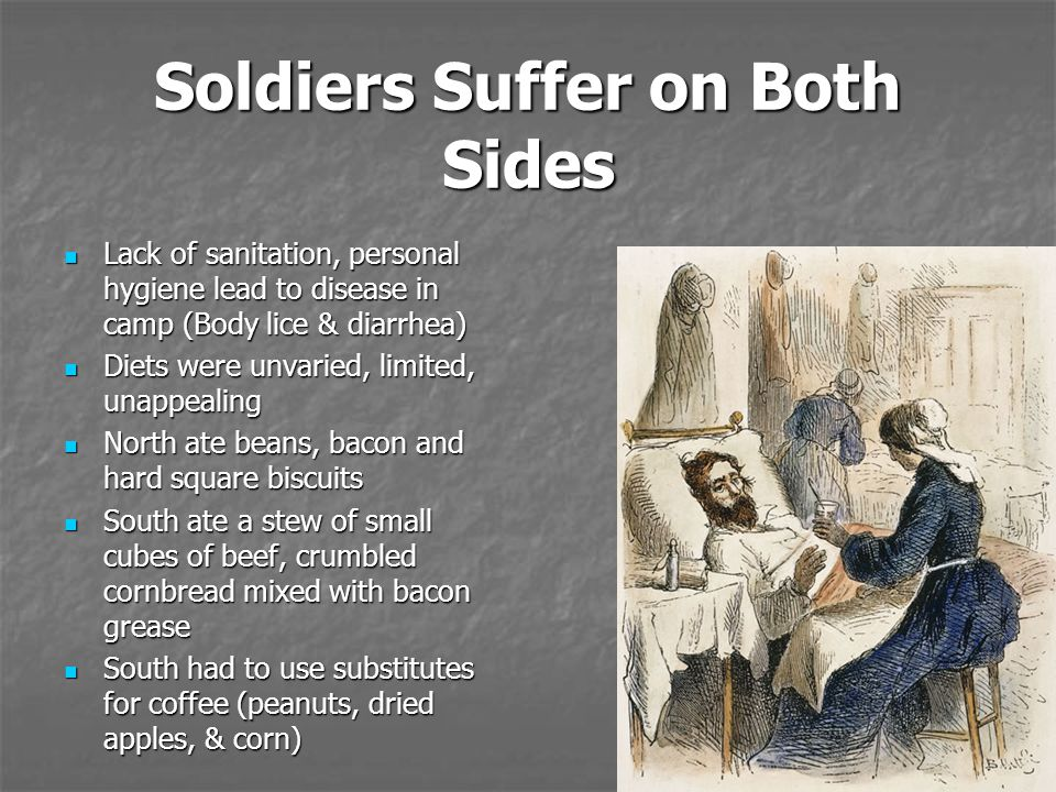 Soldiers Suffer on Both Sides