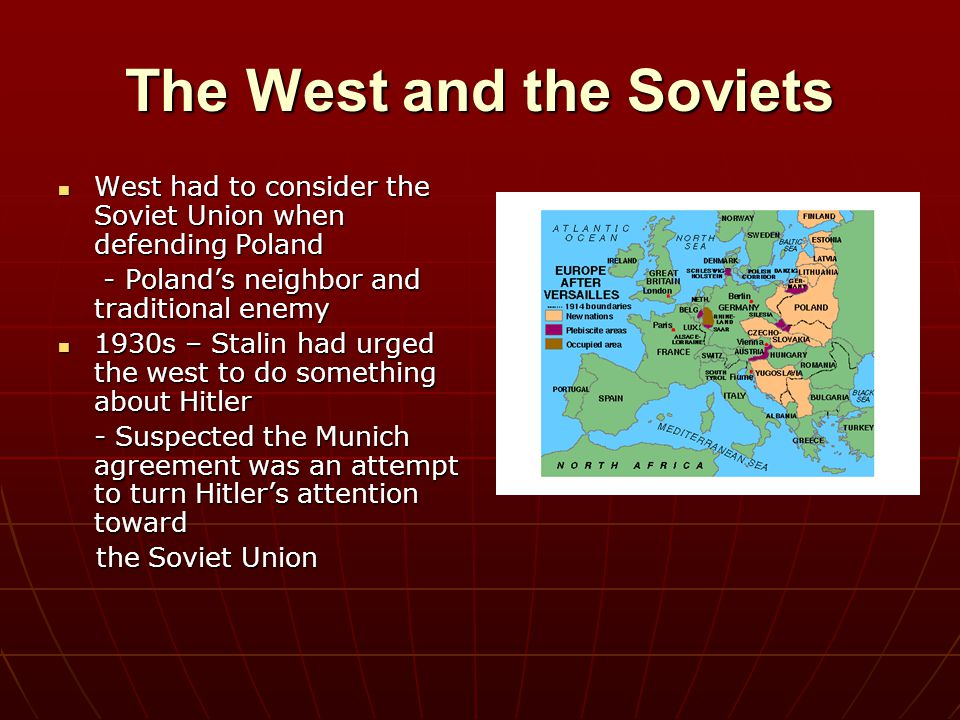 The West and the Soviets
