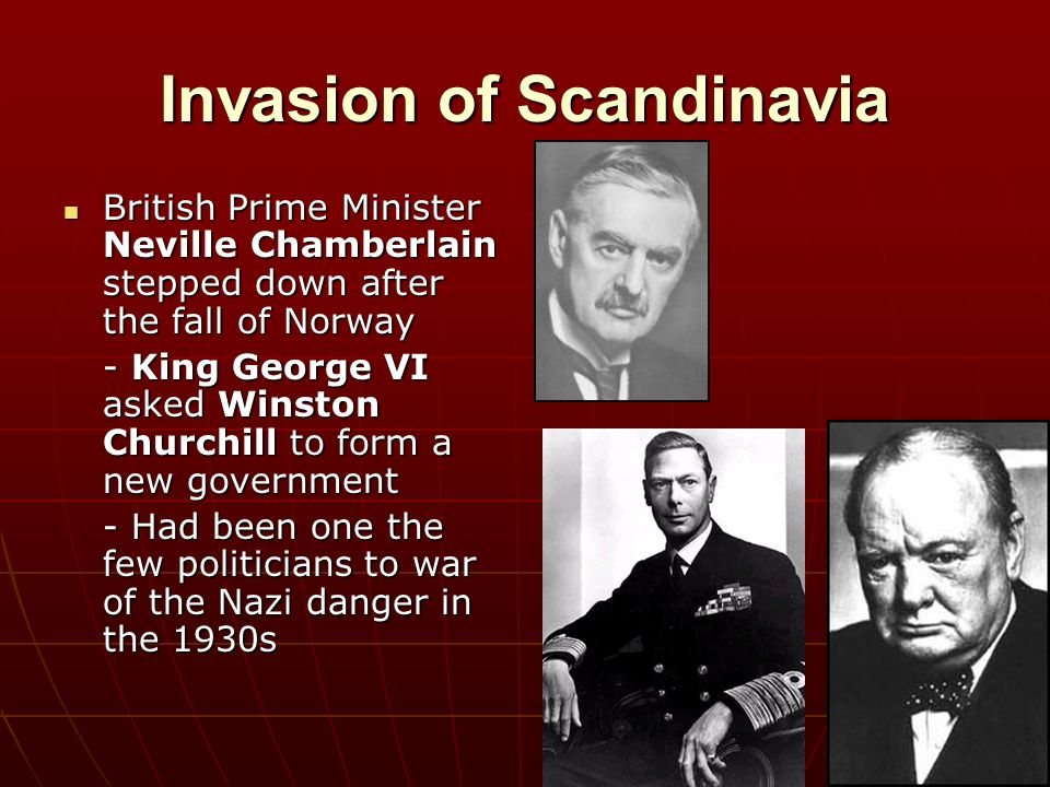Invasion of Scandinavia