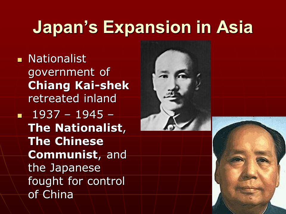 Japan's Expansion in Asia