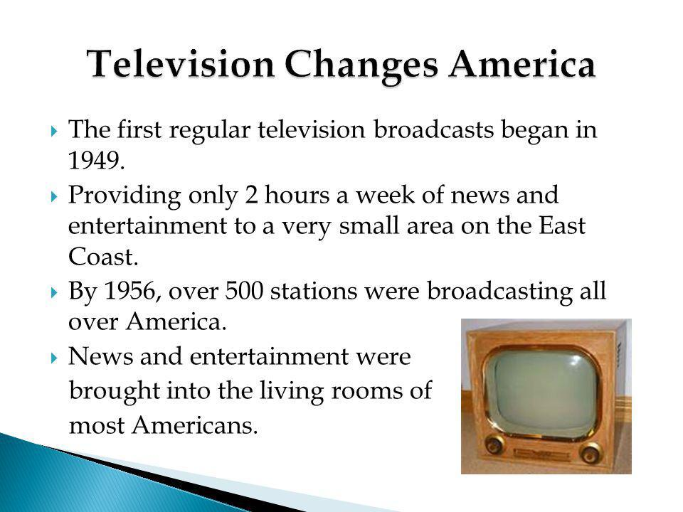 Television Changes America