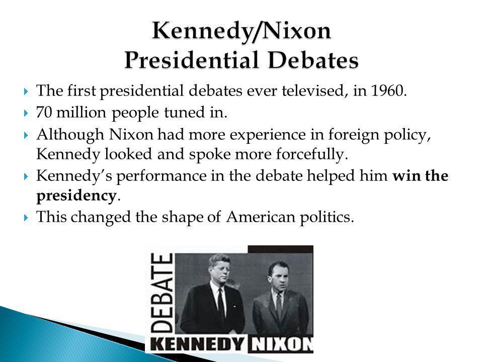 Kennedy/Nixon Presidential Debates