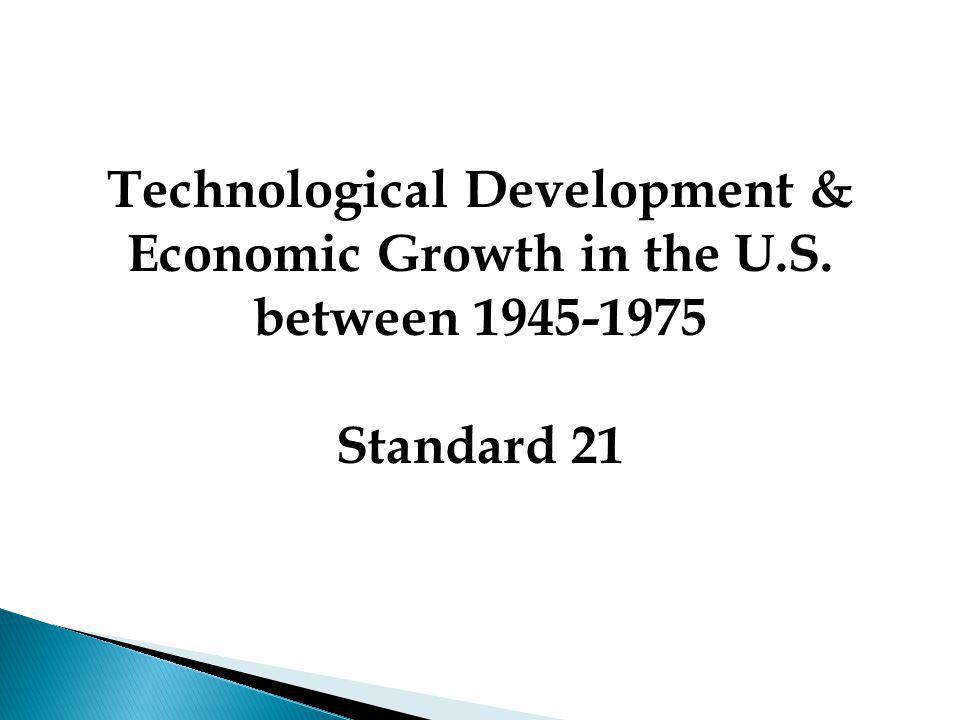 Technological Development &