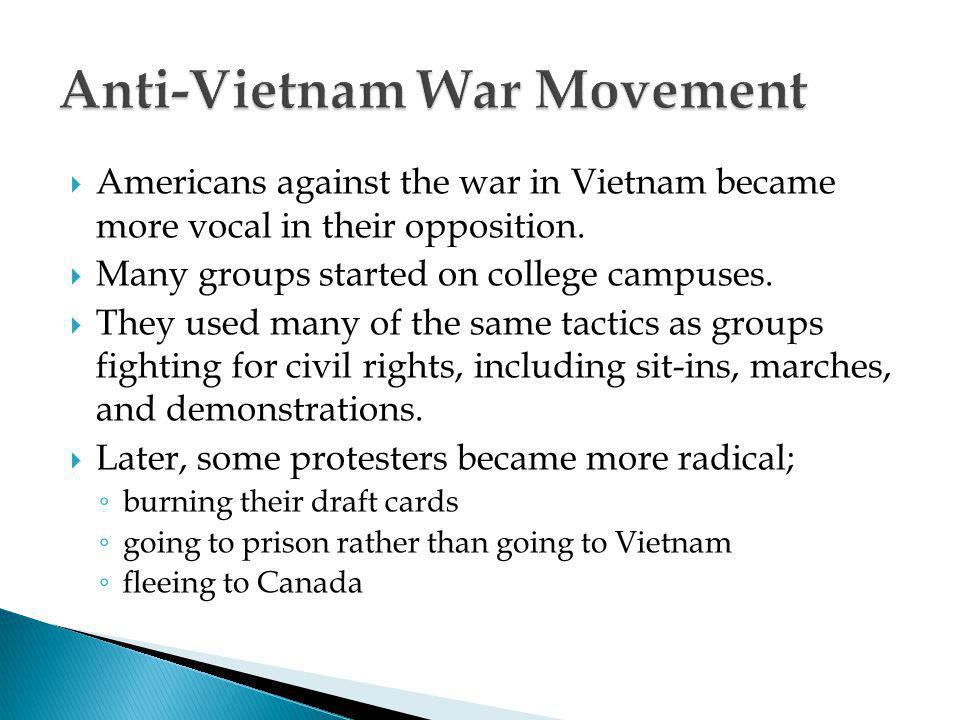 Anti-Vietnam War Movement