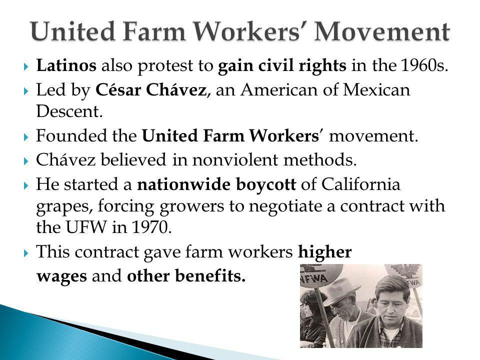 United Farm Workers' Movement