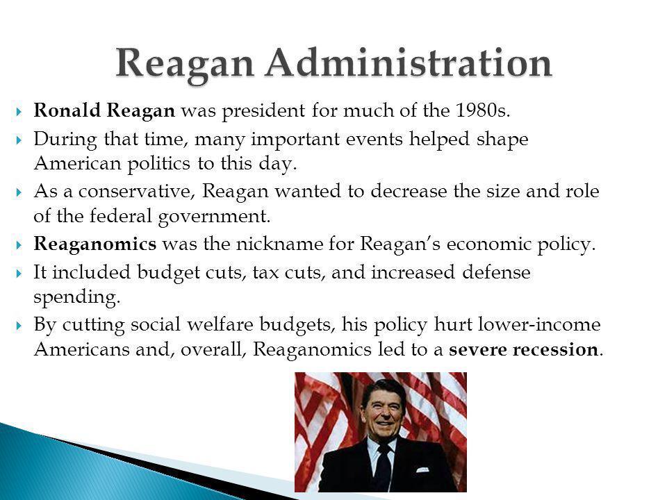 Reagan Administration