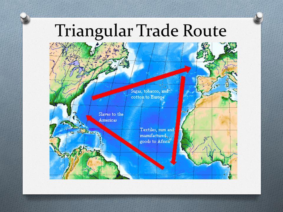 Triangular Trade Route