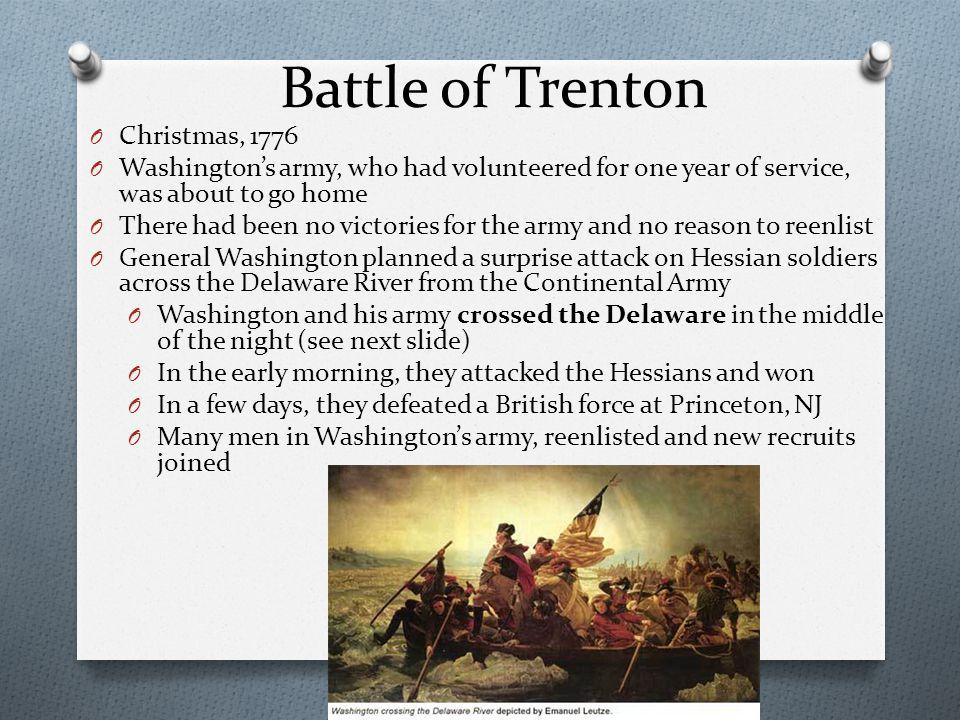 Battle of Trenton Christmas, 1776