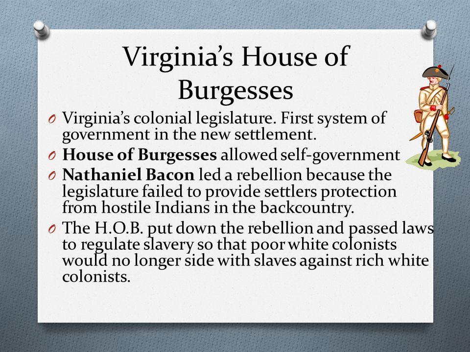 Virginia's House of Burgesses
