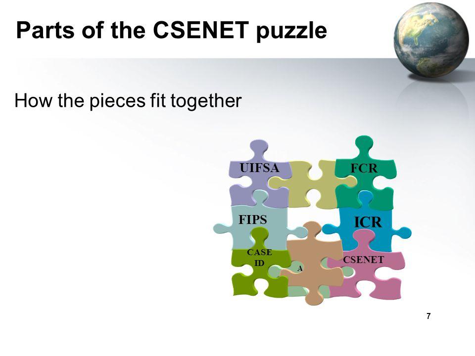 Parts of the CSENET puzzle
