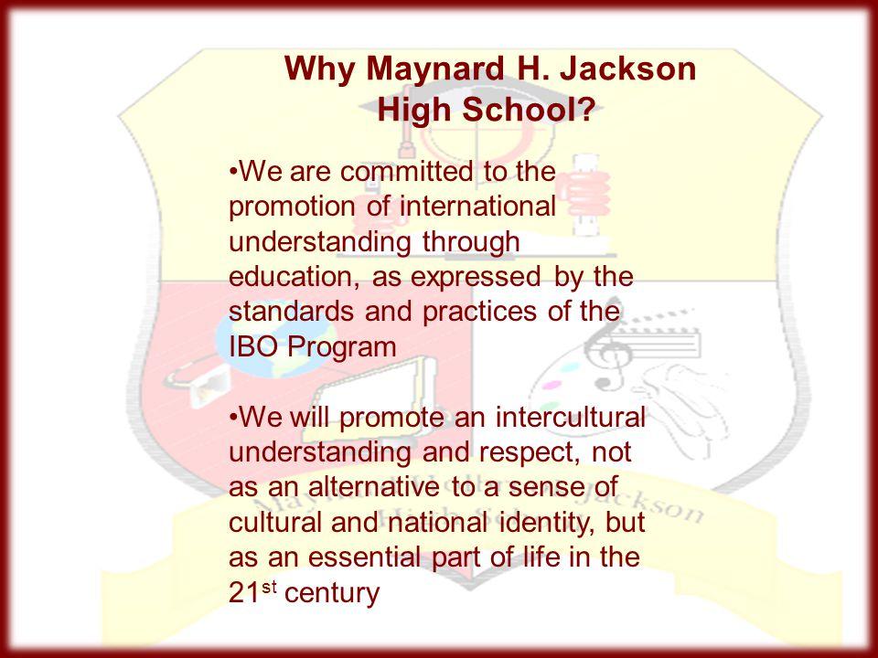 Why Maynard H. Jackson High School