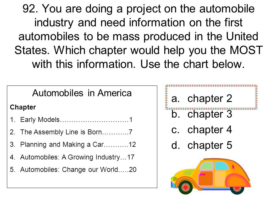 Automobiles in America