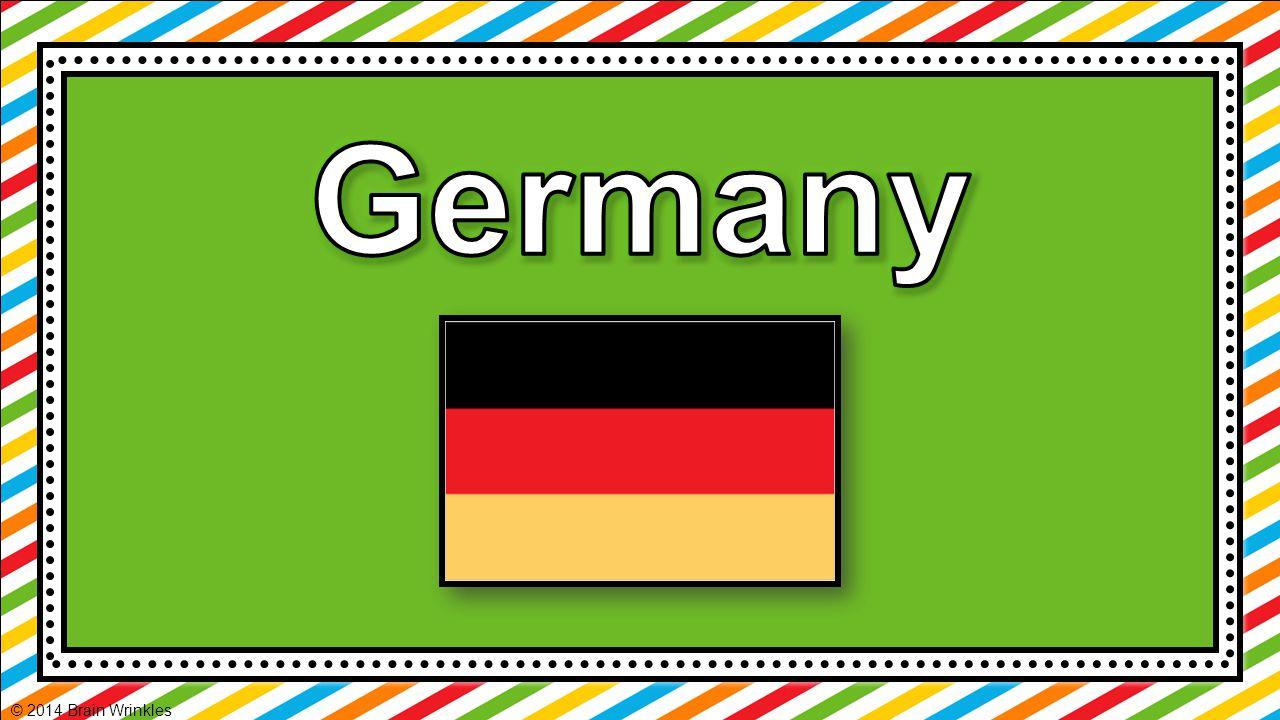 Germany © 2014 Brain Wrinkles
