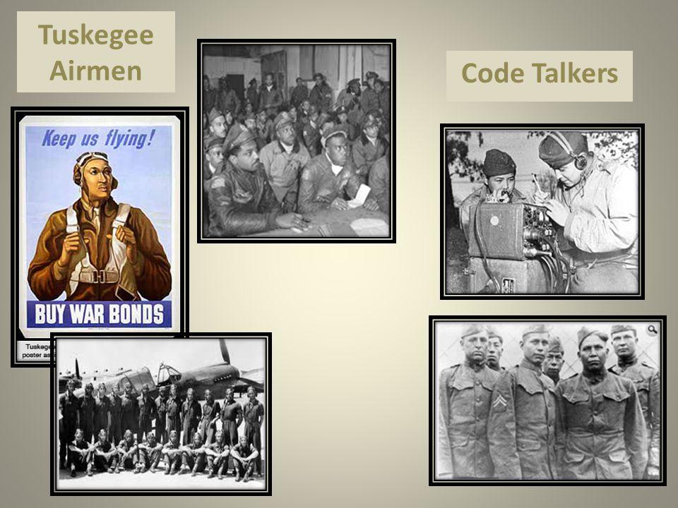 Tuskegee Airmen Code Talkers