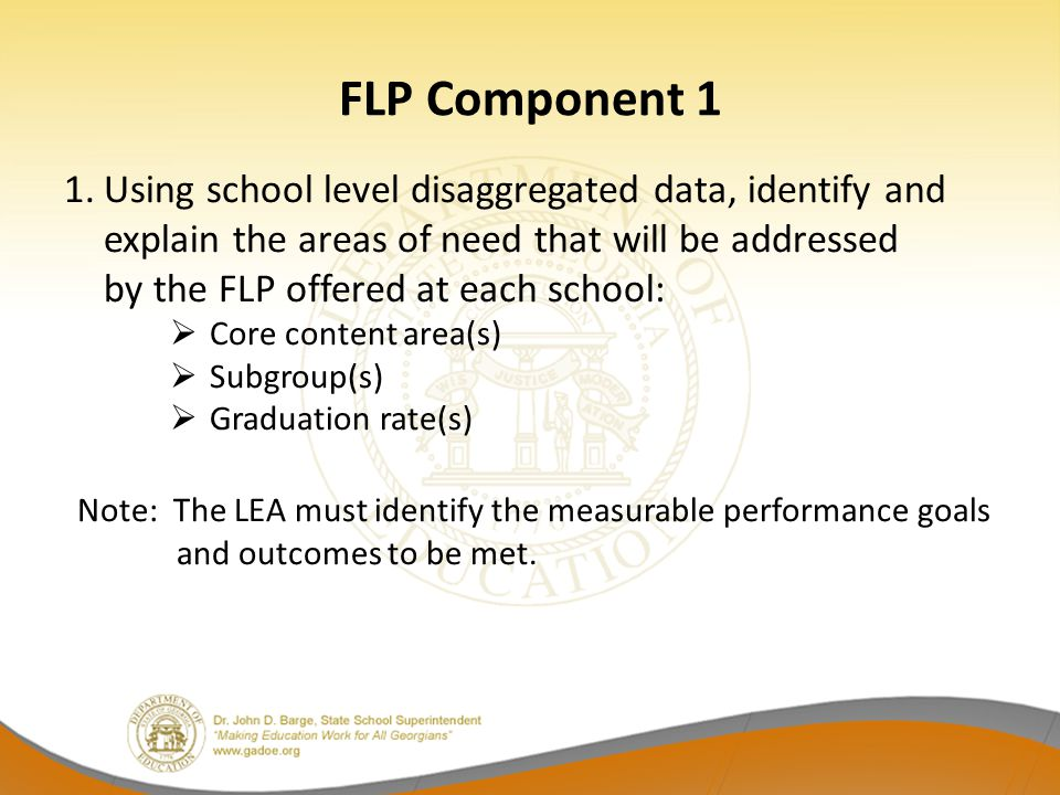 FLP Component 1