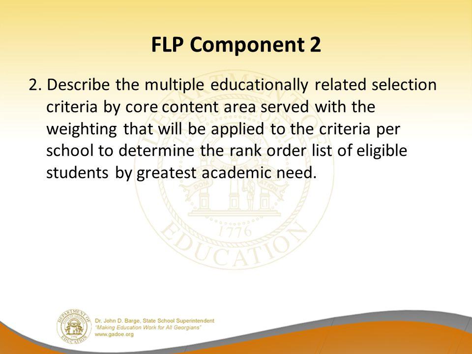 FLP Component 2