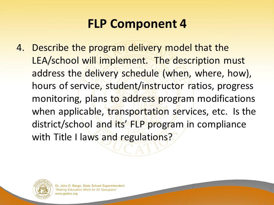 FLP Component 4