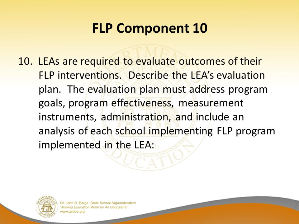 FLP Component 10