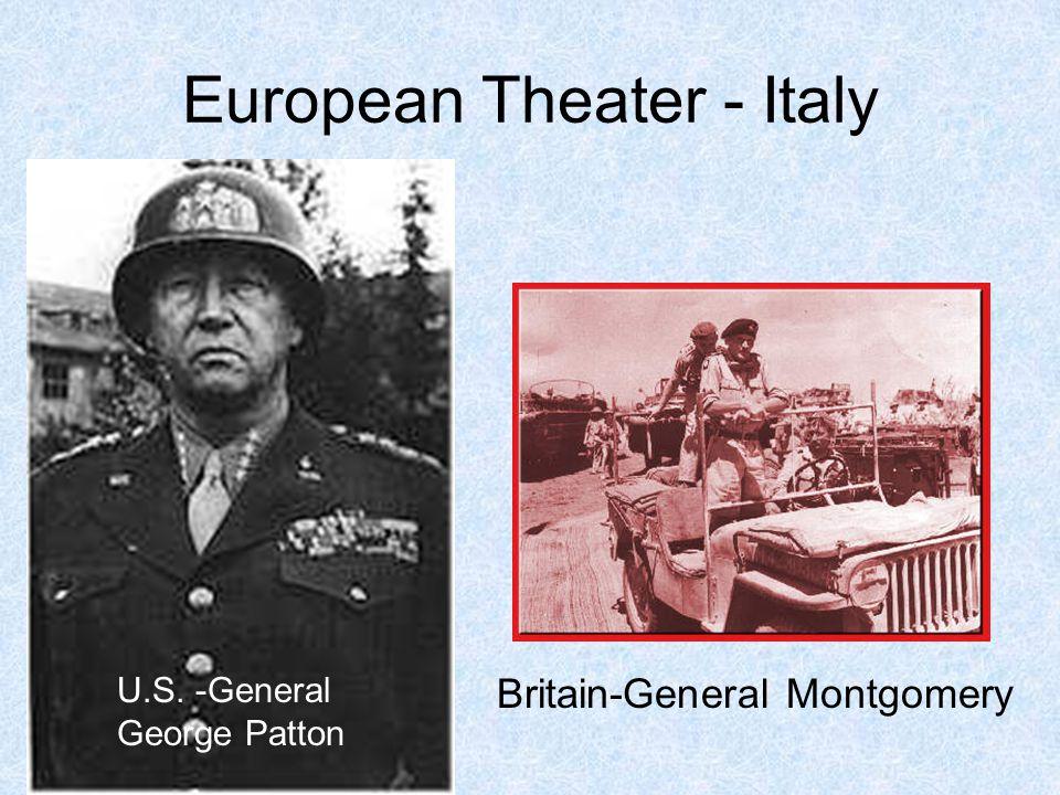 European Theater - Italy
