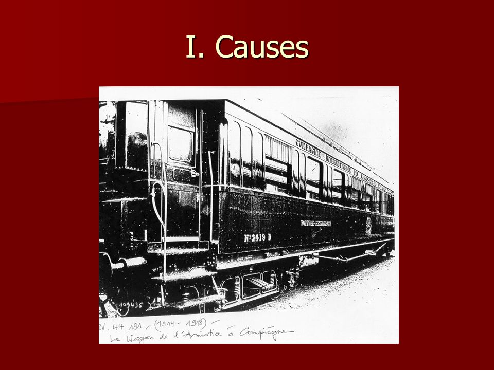 I. Causes
