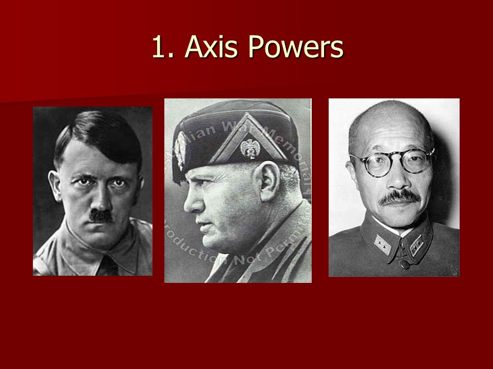 1. Axis Powers