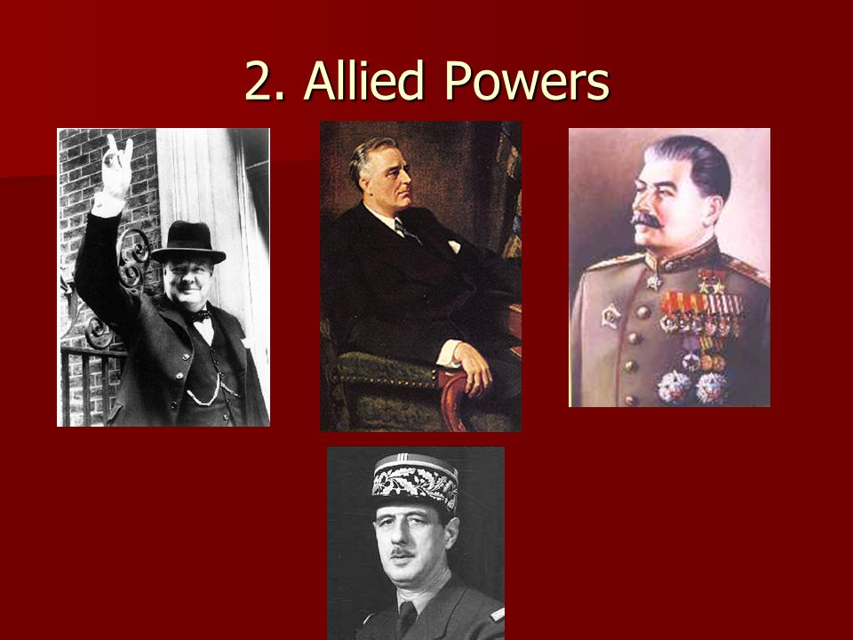 2. Allied Powers