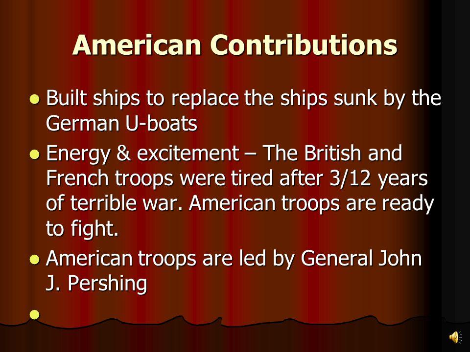 American Contributions