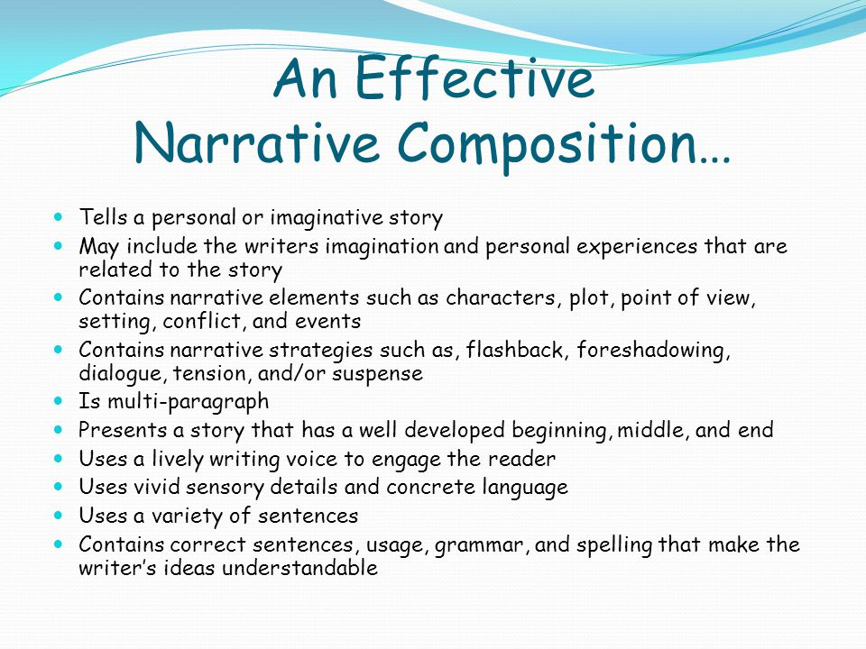 what makes an effective narrative essay Follow these steps when writing an essay, whether you're writing a college application essay, a scholarship application essay or a class essay essay tips: 7 tips on writing an effective essay - fastweb.