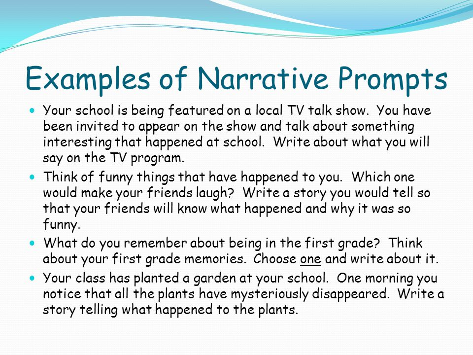 What Is Narrative Writing Ppt Video Online Download